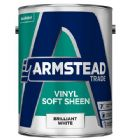 Armstead Trade Vinyl Soft Sheen Brilliant White 5 Litres